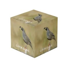Photo Cube Artsy Couture, Photo Cubes, Images And Words, Quail, Cleaning Wipes, Decorative Boxes, Display, Prints, Color