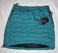 SKHOOP NEW NWT Down Winter Ocean Short Snow Skirt Insulated Sweden Womens Sz XL