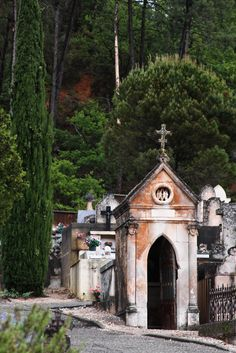 Cemetery, Roussillon, Provence | by amy coady