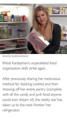 Dream Pantry Khloe Kardashian