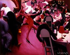 It's About Time: African American Artist Archibald John Motley, Jr (American Harlem Renaissance Painter) Saturday Night 1935 African American Culture, African American Artist, American Artists, American Women, American History, Native American, American Life, British History, Harlem Renaissance
