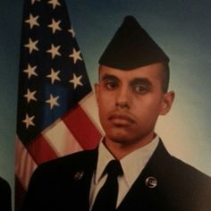 My nephew who is now an American Airman!