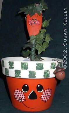Pumpkin Pals ePacket : Puddles of Paint Shop, Patterns for the Decorative Painter