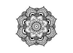 Mandala temporary tattoo - Trailer Boutique – TrailerBoutique.com