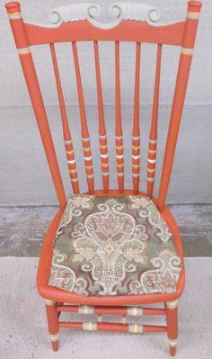 Chair with Hobby Lobby fabric.