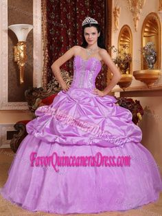 769f2cf6348 Rose Pink Ball Gown Sweetheart Beaded Quinceanera Dresses with Pick-ups