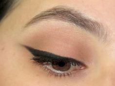 easiest winged liner tutorial without using tape