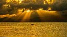 Cross the sunset