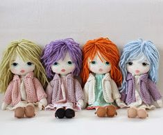 Gingermelon Dolls: Free Pattern Giveaway!! Little Ladies