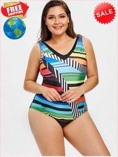 ea09144b6b6 Best Prices Plus Size Geometric Printed One Piece Swimsuit 1870232  jfqUo0VQJAyagBkM7wsZ Cheap Sale  RoseGal.