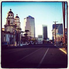 Beautiful downtown Tucson