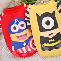 Dog Clothes Pet Costumes Cute Cartoon Clothing Puppy Shirt Cat Apparel Sweater