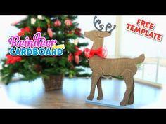 DIY christmas decoration,   carton reindeer