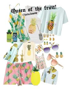 """""""Queen fruit"""" by julia3smith ❤ liked on Polyvore featuring Wildfox, maurices, Sugarhill Boutique, MSGM, Monsoon, With Love From CA, Aéropostale, MBLife.com, Wet Seal and Annette Ferdinandsen"""