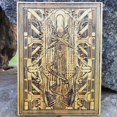 Alien Xenomorph Poster  Ridley Scott Giger by EngraversDungeon