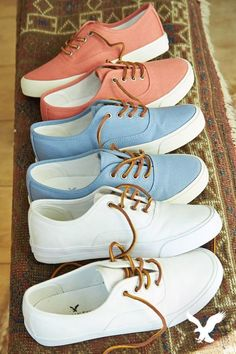 Step into with our Lace Up Sneakers. With an array of colors, these sh… Step into with our Lace Up Sneakers. With an array of colors, these shoes are perfect for wearing with your favorite denim or pairing back to a casual skirt or dress. Sneakers Mode, Sneakers Fashion, Fashion Shoes, Shoes Sneakers, Fashion Outfits, Trendy Fashion, Roshe Shoes, Gucci Sneakers, Denim Shoes