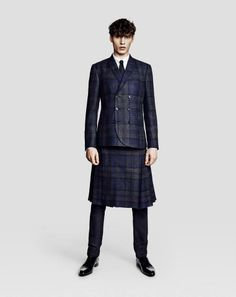 Tiger of Sweden x The London Cloth Company Tartan Collection Suit Fashion, Boy Fashion, Mens Fashion, Fashion Outfits, Fashion Trends, Swedish Brands, Tiger Of Sweden, Tartan Pattern, Art Deco Era