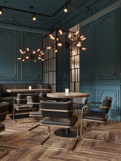 ATO STUDIO | Portfolio | Contemporary Bar in Almaty, Kazakhstan