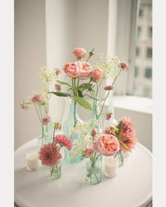 Image result for non floral centerpiece pink