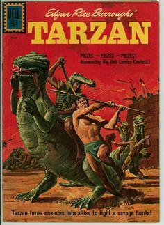 Tarzan 124 (VG+ 4.5)