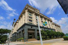 Menara Usahawan is a government complex in Precinct 2 of Putrajaya Putrajaya, San Francisco Ferry, Travel Tips, Asia, Building, Travel Advice, Buildings, Travel Hacks, Construction