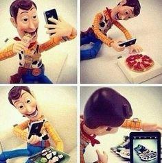 Woody + Instagram.