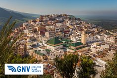 View of the holy city of #Moulay #Idris, #Morocco. Discover #GNV routes from/to #Nador here: http://www.gnv.it/en/ferries-destinations/nador-ferries-morocco.html