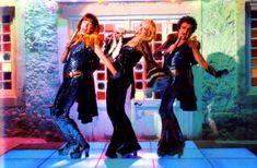 Super Trouper - Mamma Mia Donna And the dynamos Mamma Mia, Movie Shots, Movie Tv, Here I Go Again, Theatre Geek, Lily James, Love Me Forever, Meryl Streep, Drama