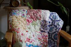 TextilManufacture Romantic Quilt by TEXTILEMANUFACTURE on Etsy