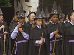 One of my favorite Halloween movies growing up!  I wish they still showed it,  The Worst Witch (1986) | Halloween Movies for Kids | Parenting.com