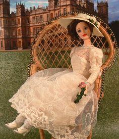 DOWNTON ABBEY Lady Cora Crawley Countess Grantham OOAK DOLL Elizabeth McGovern #Mattel #OOAKDoll