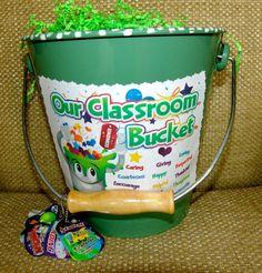 Classroom Behavior System, Classroom Behavior Management, Class Management, Bucket Filler Display, Bucket Filling Activities, Fill Your Bucket, Friendship Theme, Rules And Procedures, Teaching Tools