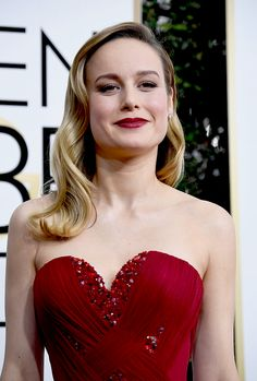 Brie Larson arrives at the 74th annual Golden Globe Awards, January 8, 2017, at the Beverly Hilton Hotel in Beverly Hills, California.
