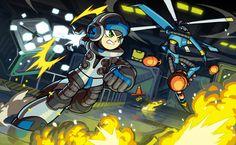 Mighty Numbers (Megaman Fan Art) by Imson.deviantart.com on @deviantART