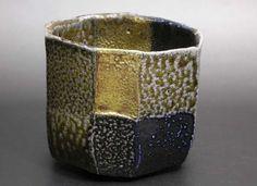 Ajiki Hiro - Salt glazed chawan - BASARA -