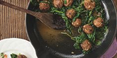 I Quit Sugar: Lamb Meatballs with Spinach by Mickey Trescott