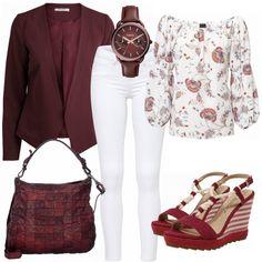 Freizeit Outfits: Blutspur bei FrauenOutfits.de