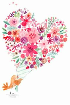 Holding a flower bird, birds, pink flowers, hand painted png Happy Birthday Images, Happy Birthday Greetings, Birthday Wishes, Happy Birthday Birds, Happy Birthday Messages, Art Floral, Red Flower Bouquet, Flower Bird, Cactus Flower