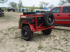 Off road trailers | trailer for your rigs i snapped some pics of this real nice trailer ...