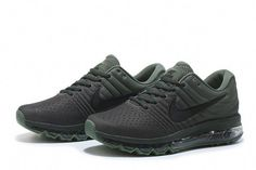 3d74bd09a66 Nike Air Max 2017 Mesh Army Green Men Shoes  WomensshoesEu37 Nike  Basketball Shoes
