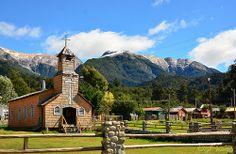 Iglesias de la Carretera, Villa Amengual, Chile