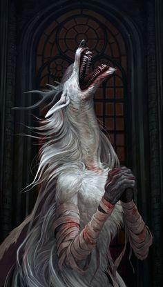 Vicar Amelia,BB персонажи,BloodBorne,Dark Souls,фэндомы