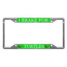 TURTLES ANIMAL Metal License Plate Frame Tag Holder Four Holes #Fastasticdeals