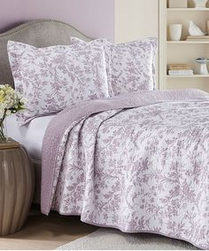 Loving this Amberley Lilac Quilt Set on #zulily! #zulilyfinds