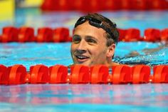 <b>Ryan Lochte. He has the lips of a guppy, the agility of a dolphin, the body of a man