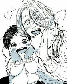 Yolo Credits to the artist #yurikatsuiki #yuri #yurionice #victornikiforov #viktor #yurioplisetsky #yurianime #anime #manga #knb #aomine #kiseryota #kurokonobasket #yaoi #gay #tokyoghoul #kaneki #hide #touka #ghouls #kagune