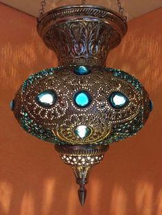 Orientalische Marokkanische Arabische Messing Hngeleuchte Deckenlampe Lampe NEU In Mbel Wohnen Beleuchtung Deckenlampen