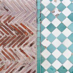Bricks and tiles.   https://www.youtube.com/watch?v=5yXQJBU8A28