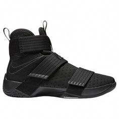 2017ded025e4 Nike Lebron Soldier 10 Mens Hi Top Basketball Trainers 844374 Sneakers Shoes  (US black black
