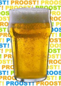 Proost!Sommigen zeggen dat het glas halfleeg is. Anderen zeggen dat het glas halfvol is. Het is je verjaardag, dus drink gewoon wat er in je glas zit.